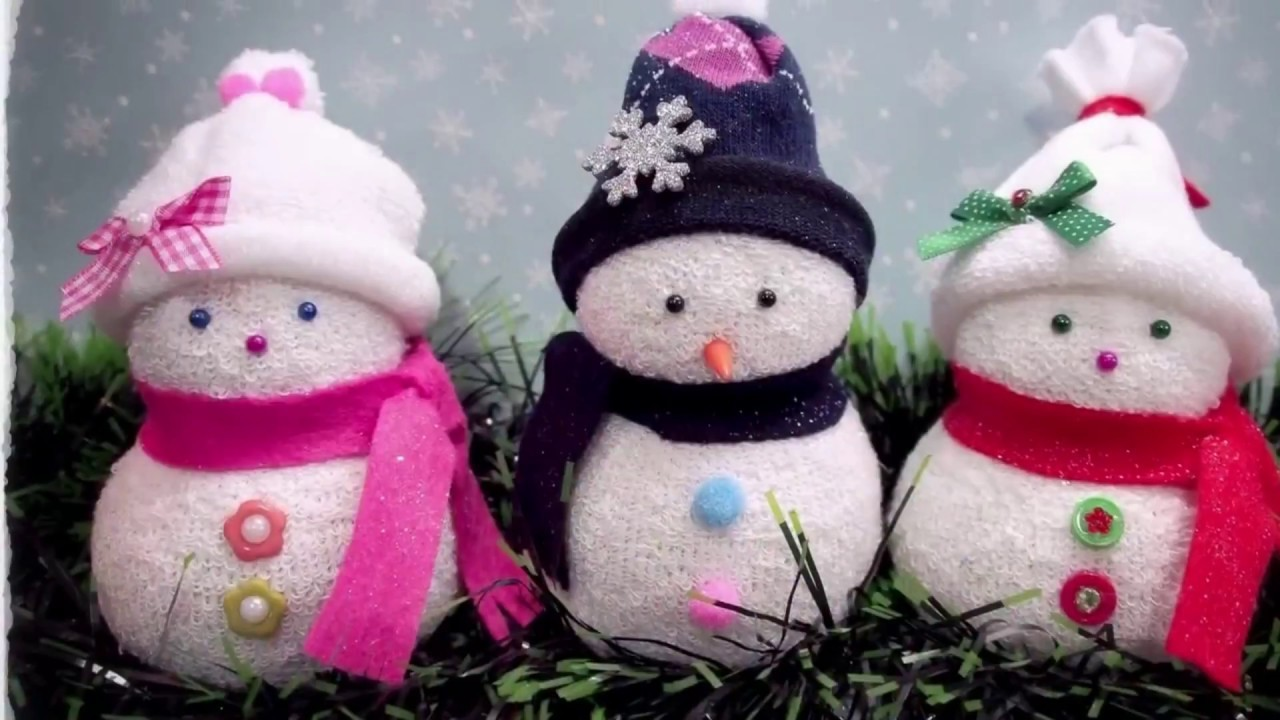 DIY Mini Snowman Ideas   How to Make Creative Mini Snowman for Christmas and Winter Decorations