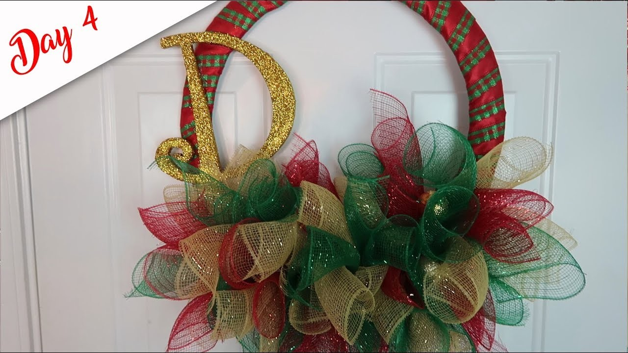 DIY Monogrammed Wreath