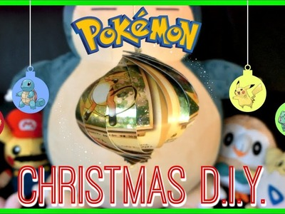 ???? DIY POKEMON CHRISTMAS ORNAMENTS????