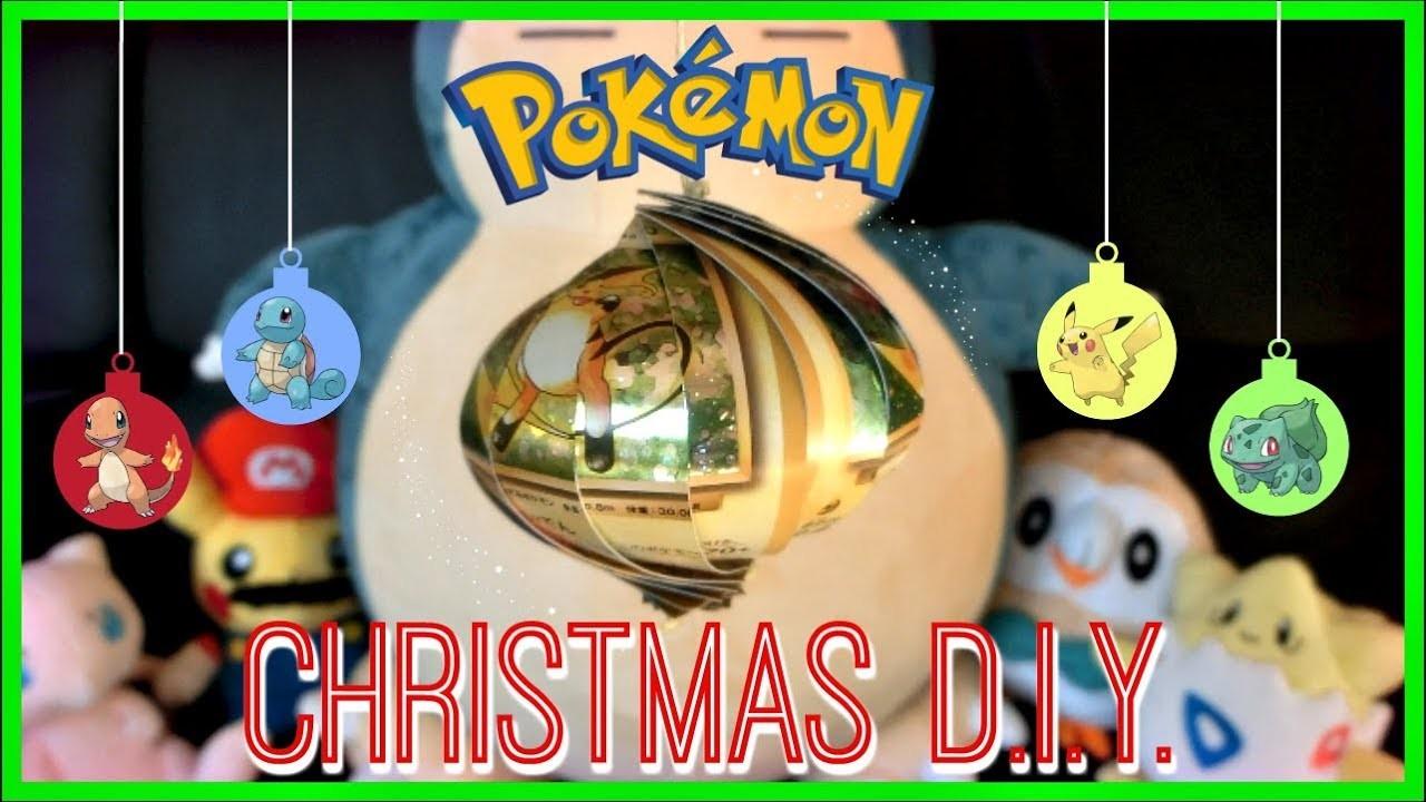 ???? DIY POKEMON CHRISTMAS ORNAMENTS????