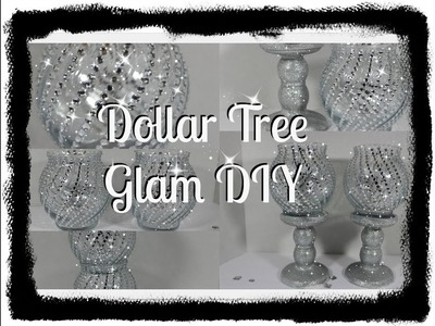 ????Dollar Tree DIY ????Candle Stands And Holders????