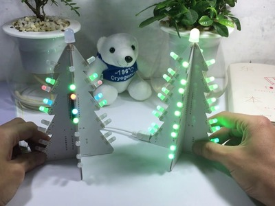 Geekcreit® DIY Light Control Full Color LED Big Size Christmas Tree