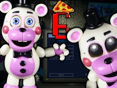 "HELPY l FNAF6 l PIZZERIA SIMULATOR ""TUTORIAL"" ✔POLYMER CLAY ✔COLD PORCELAIN"