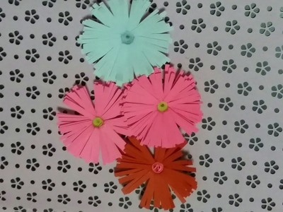 How to make Paper Flowers | Origami Flowers | Easy Flowers |