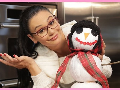 JWOWW's Pumpkin Snowman DIY with Meilani!