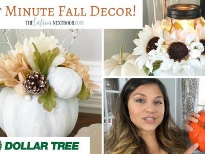 Last Minute DIY Fall Decor from Dollar Tree