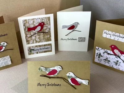 Making a set of Christmas Cards