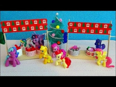 Miniature Christmas Stand Ornaments. DIY. LPS & MLP