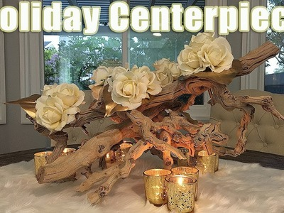 NEW! Holiday Table Centerpiece DIY