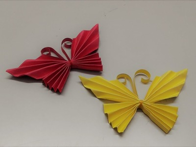 Paper Butterfly Origami - DIY for Beginners