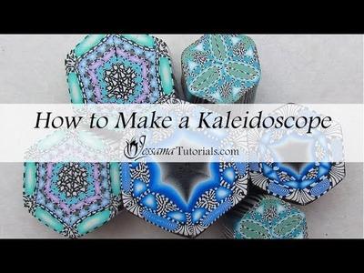 Polymer Clay Kaleidoscope Cane Tutorial