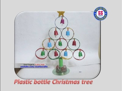 Best out of the waste||Very easy Christmas Decoration ideas using Plastic spoons and Plastic Bottle