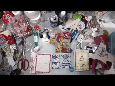 Black Friday Live Stream - Holiday Card making - Christmas Cards!