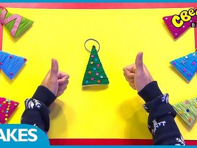 CBeebies Christmas Crafts | Homemade Christmas Decorations
