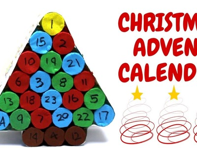 Christmas Advent Calendar | Christmas Ideas | Toilet Roll Craft