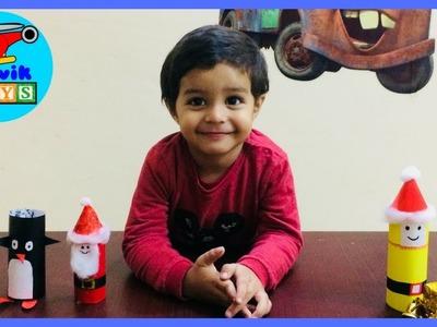 Christmas Crafts for Kids | Santa Claus | Ritvik Toys