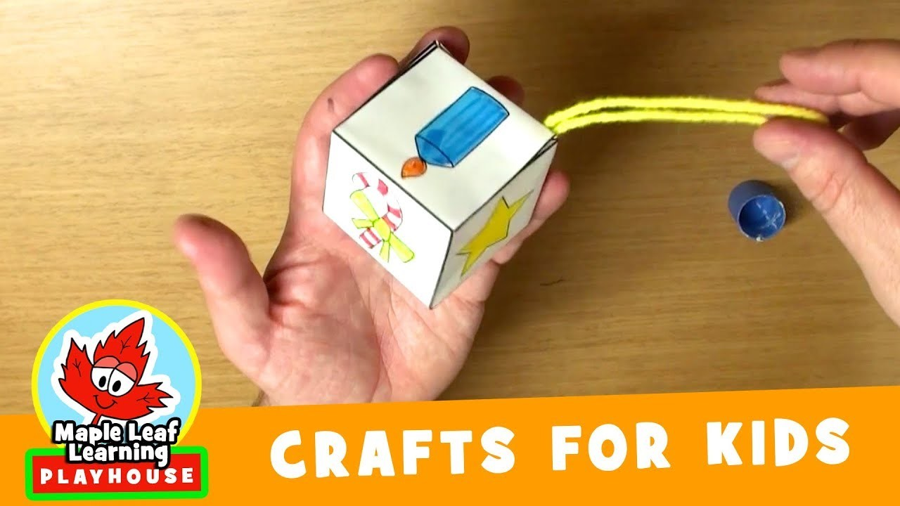 Christmas Ornament Craft for Kids | Maple Leaf Learning Playhouse