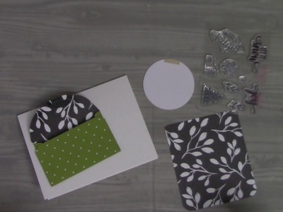 Day 6 Handmade Gift Card Holder Cards with Stampin' Up & Cricut Design Space