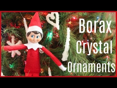 Elf on the Shelf makes DIY Borax Crystal Ornaments! Elf on the Shelf caught moving 2017