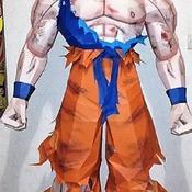 Goku - DIY Paper Models - Pack Nº1 (Japanese Anime Dragon Ball)