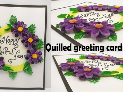 Happy new year greeting card - Handmade greeting cards for special occasions and birthday