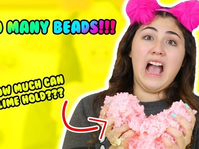HOW MUCH CAN SLIME HOLD PART 6   pallet beads, shower gel, hand soap   Slimeatory #198