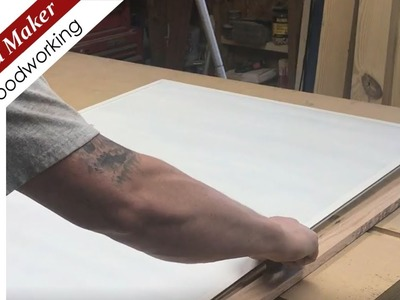 How to Build a Whiteboard * White erase board * DIY * Cheap