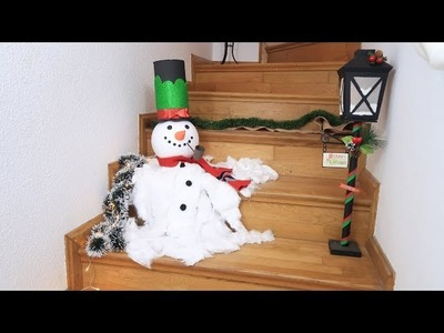 How to make a Melted Snowman for this Christmas