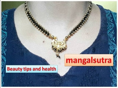 How to make mangalsutra | Make your Own Mangalsutra | Bridal Jewelry  | Latest Mangalsutra