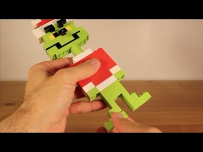 How to Make the Grinch Who Stole Christmas out of Lego