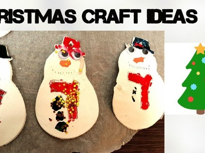 Kaylens Christmas crafts