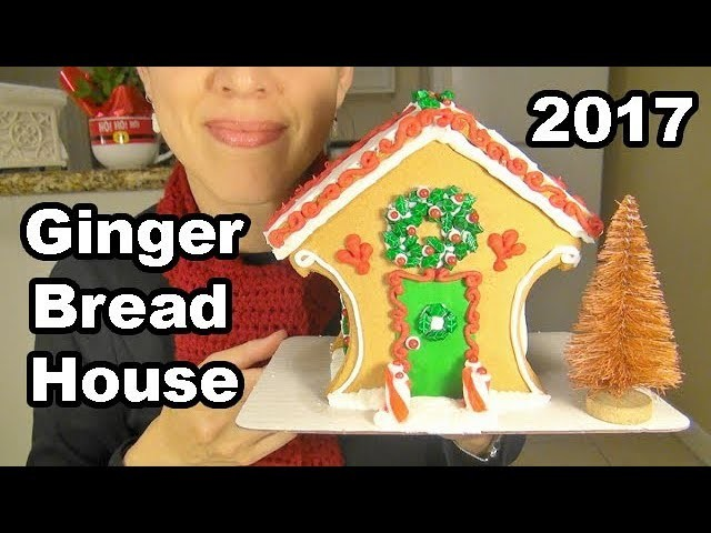 Making a Gingerbread House | ASMR | Holiday Crafts | Christmas Crafts