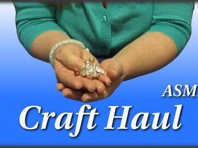 My Craft Supplies & Haul ASMR