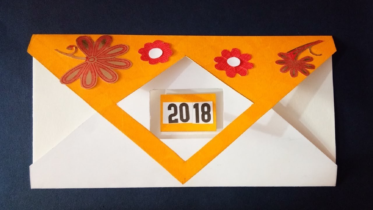 new year greeting card making ideas 2018 handmade greeting card design