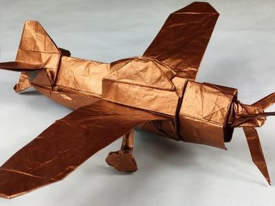 Origami Zero Fighter Tutorial (Satoshi Kamiya) Part 2.3 (290+ Steps!)