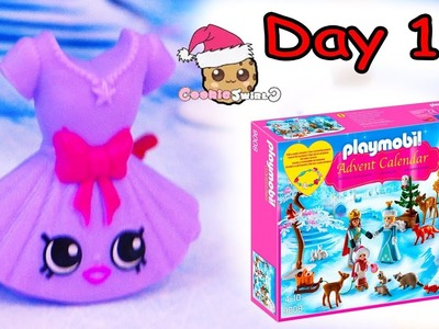 Playmobil Holiday Christmas Advent Calendar Day 11 Cookie Swirl C Toy Surprise Video