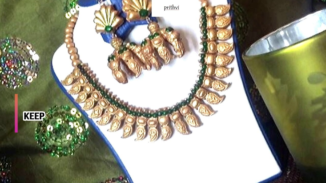 Prithvi Collection - How to make terracotta jewelry - part 1