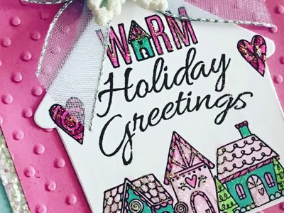 Sizzix Warm Holiday Greetings Handmade Christmas Cards December 2017