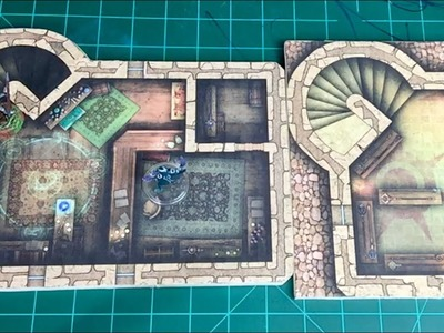 Tabletop Craft # 26 - Droppable Shops and Buildings