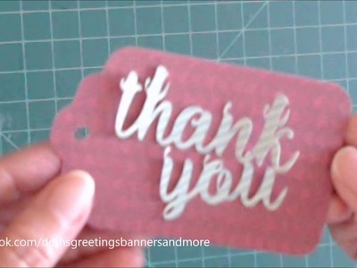 THANK YOU TAG | CHRISTMAS | CRAFT SMITH by Deth's Greetings