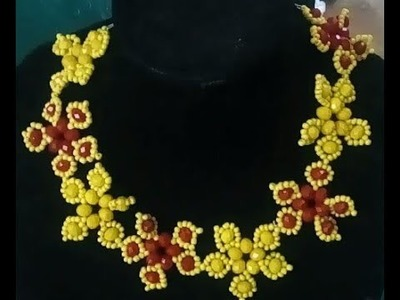 The tutorial on how to make this beaded jewelry.