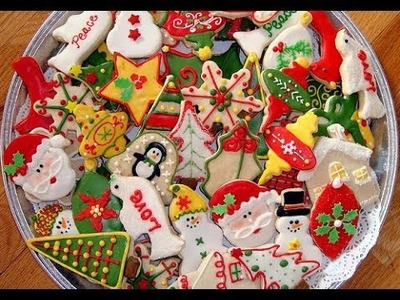 Top  Christmas Cookie Decorating Ideas 2017 - How to decorate Christmas cookies