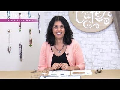 Artbeads Tutorial - Beginner Basics: Knotting Beads with Cynthia Kimura