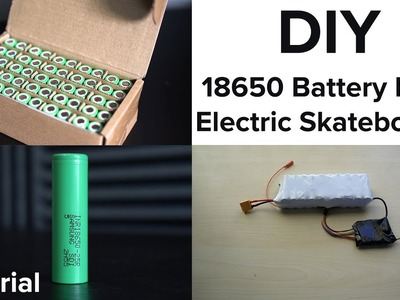 DIY Electric Skateboard Build - Better Than A Boosted Board | DIY 18650 Battery Pack