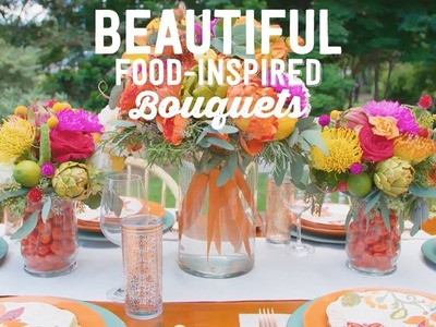 DIY Food-Inspired Bouquets - Way to Grow - HGTV