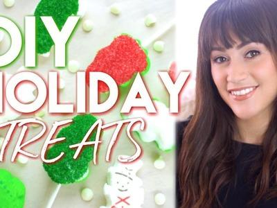 DIY Holiday Treats! Gingerbread House, Cupcakes & MORE!