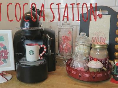 DIY HOT COCOA STATION!