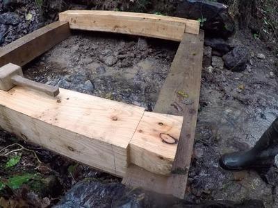 DIY Micro Hydro part 3 Powerhouse Foundation