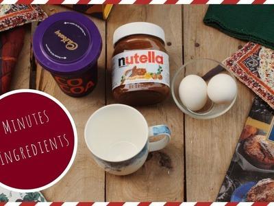DIY: Mug Cake - 3 Ingredients, Easy Dessert for Winter | Sana Grover