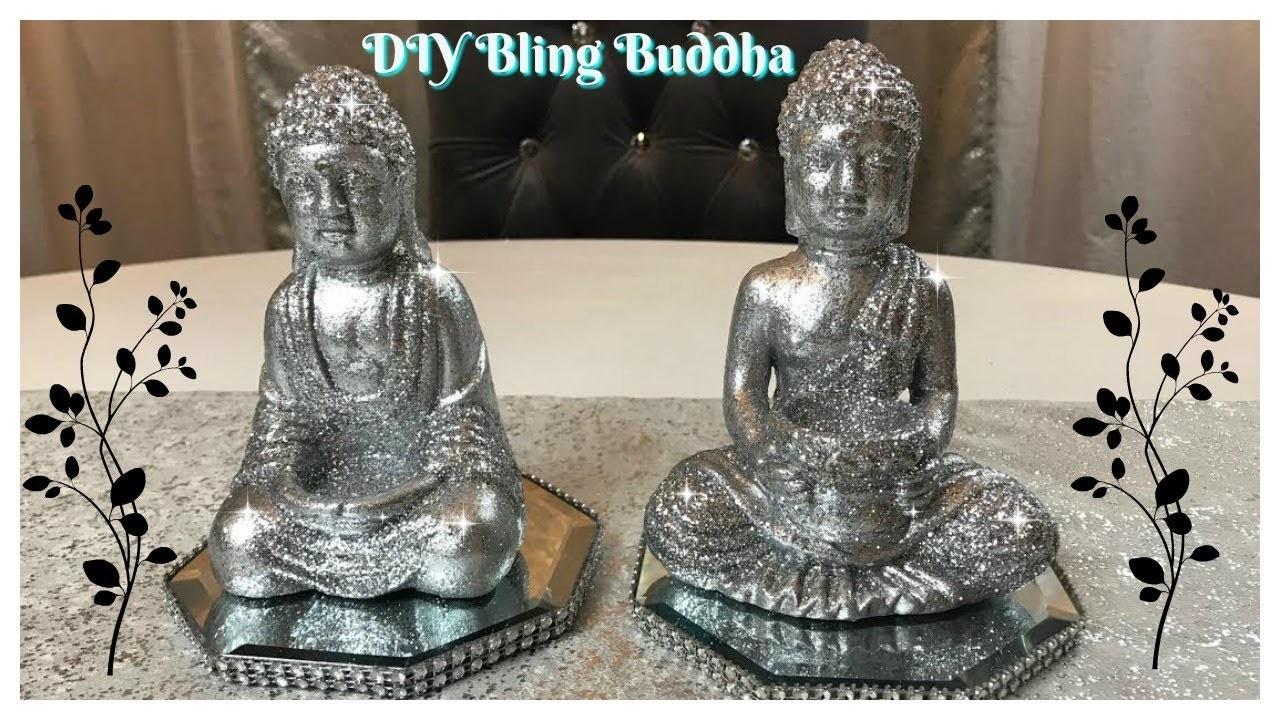 DIY - NEW DOLLAR TREE ITEM BLING BUDDHA